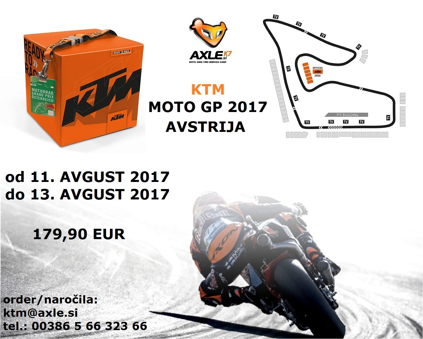 Moto GP AVSTRIJA 2017 (11.08.2017-13.08.2017)